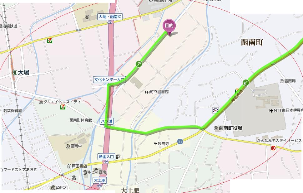 山口医院周辺map